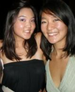 My once-friend Shannon and I