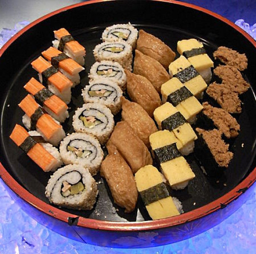 Sushi and other dishes are liable to be contaminated unless properly prepared and held under the right conditions before serving.
