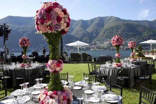 Reception On Lake Como, Italy