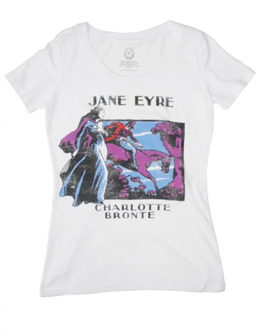 After a recent trip to The Strand Bookstore in NYC, I acquired this lovely t-shirt, dedicated to my favourite book, Jane Eyre. Out of Print Clothing makes wonderful book related products. Perfect gifts for the booklover in your life.
