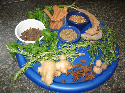 Experiment with different herbs and spices.
