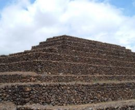 A Tenerife pyramid