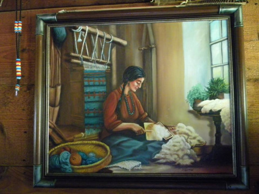 Photo of Painting by Edith Laffoon