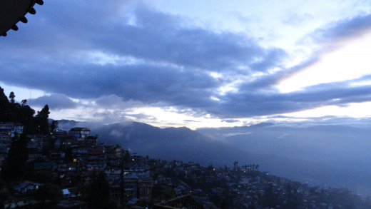 An evening never to forget at Darjeeling