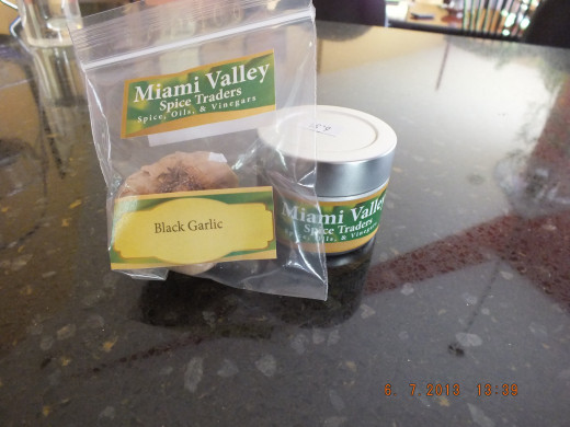 Two of the ingredients I am going to use in my ketchup came from the Miami Valley Spice Traders. You have got to try the black garlic and their super fresh cinnamon!