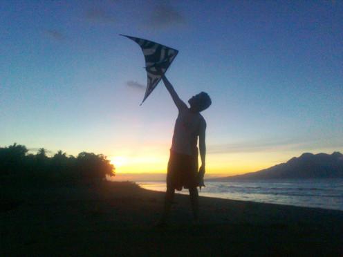 Kite Flying sunrise to sunset