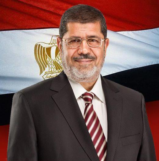 Morsi,The rightful president of Egypt!