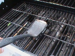 Clean your grill grate before you use it