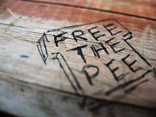 FREE THE PEE!... FREE THE PEE!