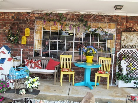 The front of the store. Sit down and take a load off. Check out all of the interesting items