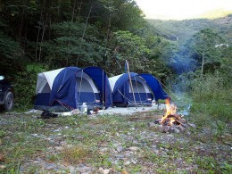 Flickr image of campsite