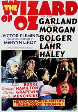 The 1939 film starred Judy Garland