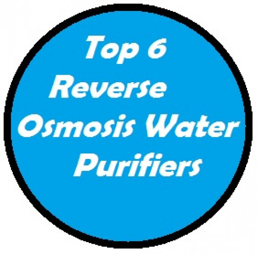 Top 6 Reverse Osmosis Water Purifiers in the Marketplace.