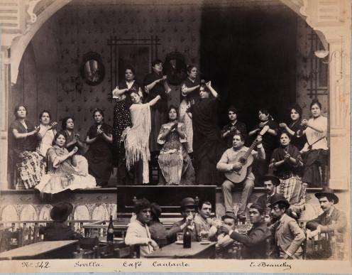 CAFÉ CANTANTE, SEVILLE, circa1888