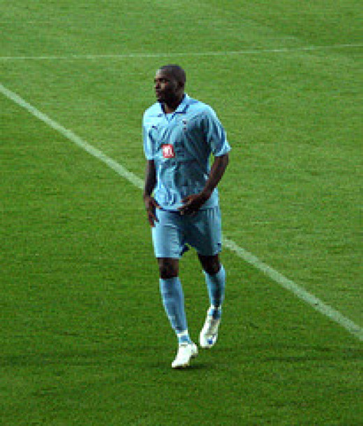 Darren Bent had been a transfer target for Fulham