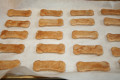 Baking homemade dog training treats, peanut butter biscuits, with your children!