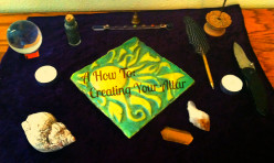 Working to Create Your Altar: Wiccan, Pagan, Buddhist, or Any Other Place of Spirituality