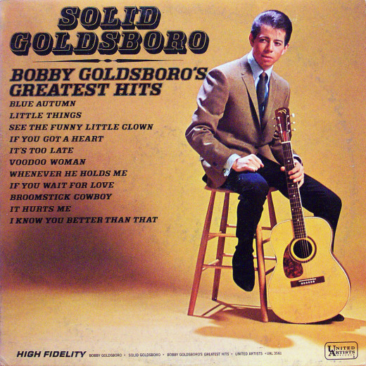 "Goldsboro made a million or two with his signature song, ""Little Things."""