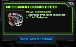 Research Completed on Trial Dissipator