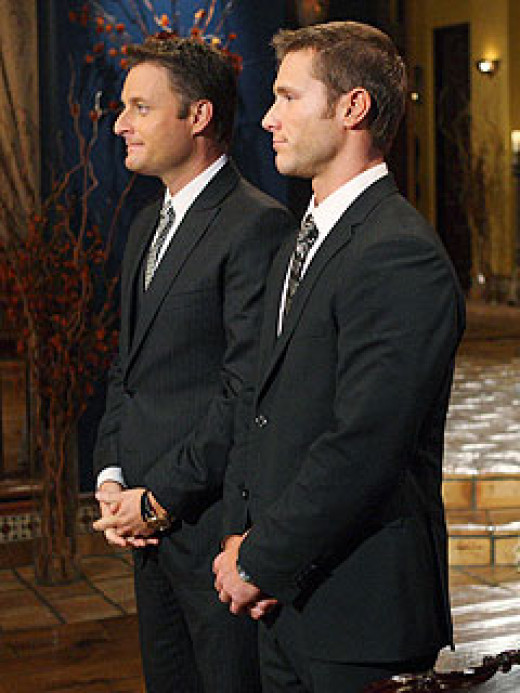 Chris Harrison and Jake Pavelka