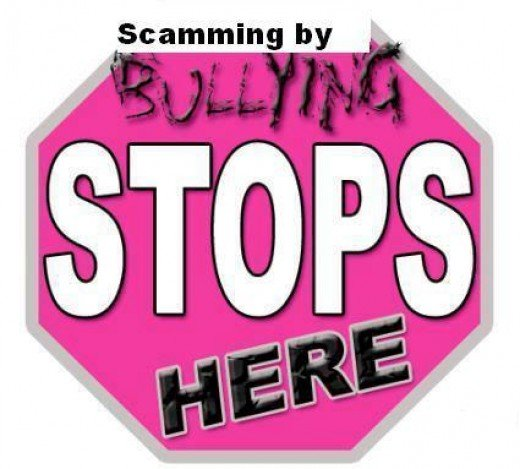 An End to Bullying by Scamming Online has to stop!!