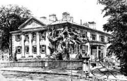 Allen estate 'Moss Park' on Sherbourne, west side Toronto, Ontario, in 1889