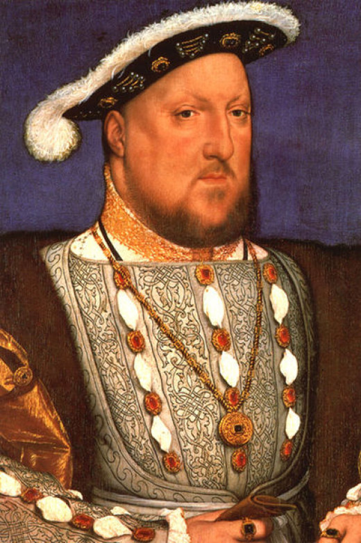 Henry VIII had to go through with the marriage for his alliance with Germany at the time