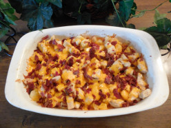 Cheesy Chicken Potato Bake  Recipe