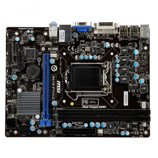 If you're looking for a good LGA 1155 motherboard below $50, then the MSI H61M-P31 is a solid option.