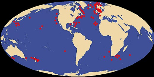 Based On Recovered Specimens Locations