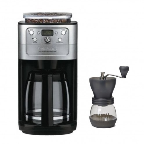 Cuisinart (DGB-700BC) 12 Cup Grind & Brew Coffeemaker (Brushed Chrome) + (ED150) Bean Vac Coffee Canister