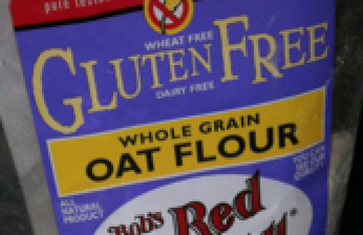 Make sure your oat flour is certified GF!
