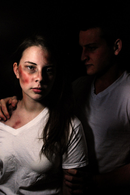 Abusive Relationship Piece from Dean Hopper  flickr.com