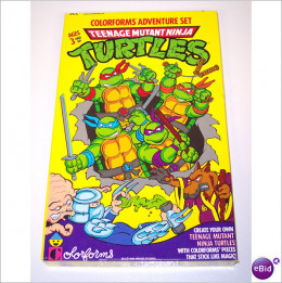 Why the Turtles never fought an 80's slasher villain is beyond me. What a great crossover that could have been.