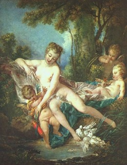 "Boucher's ""Venus Consoling Love"""