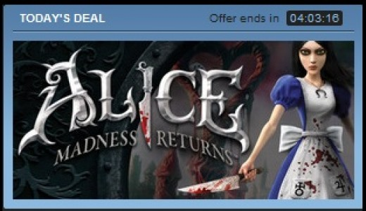 There are various daily deals that provide discounts on various games.