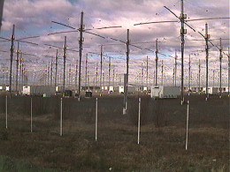HAARP and like facilities, are strategically located around the world. They provide the energy to manipulate the ionosphere all other charged particles.