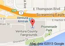 Ventura County Fairgrounds has an Amtrak station stop walking distance to the County Fair.