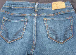 After you purchase jeans to resell, wash them. If you see any stains on them after your purchase, use a stain remover. After they are cleaned, store the jeans in clean, plastic containers so that they remain clean.