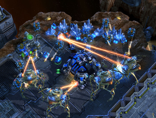 Real time strategy games, Like Starcraft II, is still one genre of gaming that is done best on the PC.