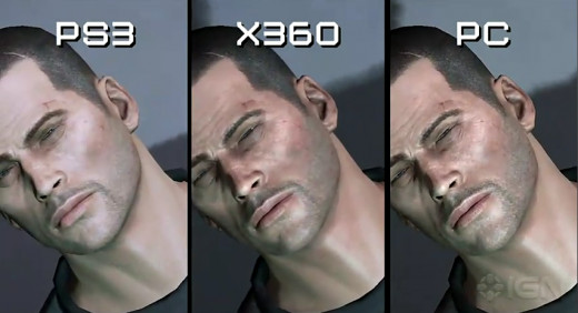 Commander Shepard on the 360, PS3 and PC.