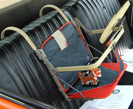 1950's child car seat