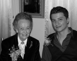 Lorraine Warren and Ryan Buell
