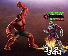 Red Hulk Smash Servo Guards