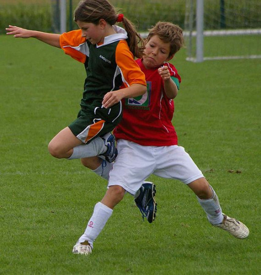 Soccer is very popular with young people who get frustrated with draws and penalty shoot-outs