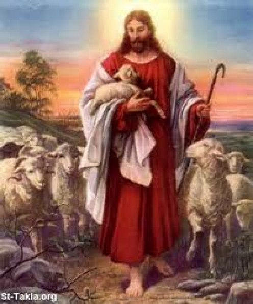 The Good Shepherd guides His sheep to greener pastures. He watches over His flock and knows each by name. His life belongs totally to them.