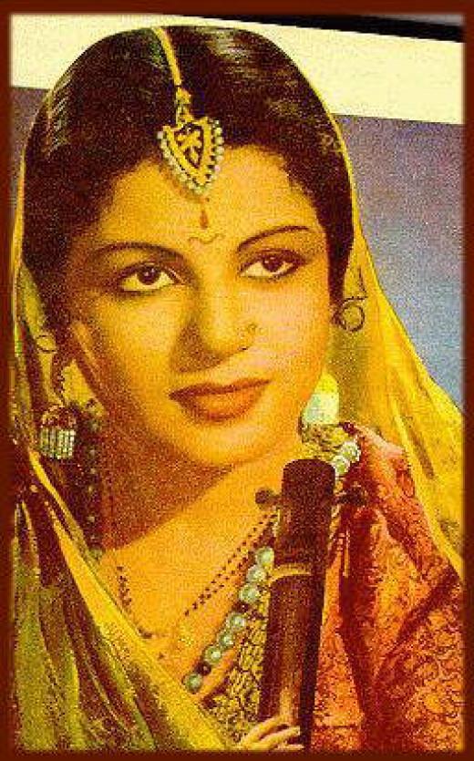 M .S. Subbulakshmi in Meera movie