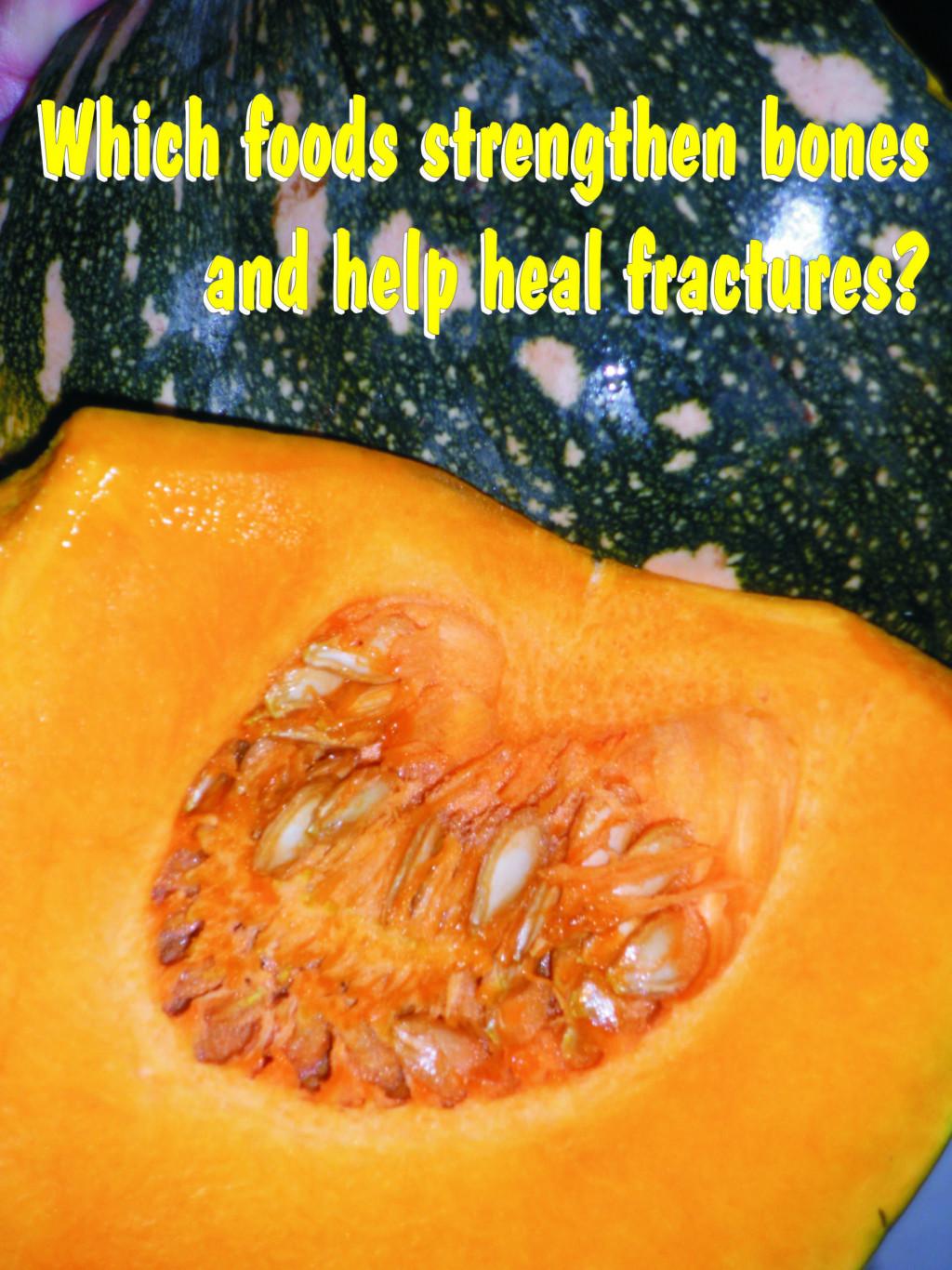 Foods to help heal broken bones hubpages for Cuisine for healing