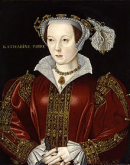 Katherine Parr, the sixth wife of Henry VIII