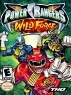 Power Rangers Wild Force for the Nintendo Game Boy Advance - Actually quite tame